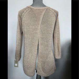 Aritzia linen blend sweater